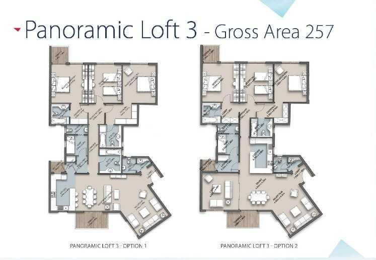 The Loft Apartment Models