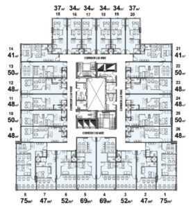 Design of Inizio Mall units