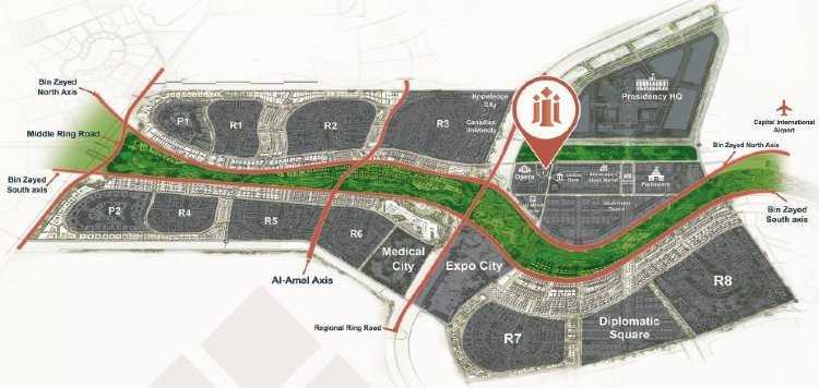 Inizio Mall Project Administrative Capital
