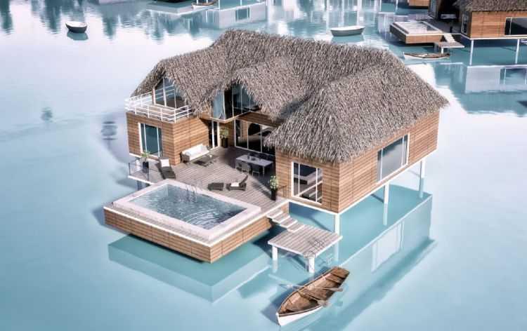 Floating Villa in Sky City El Galala