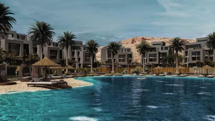 Lagoon Apartments Sky City Al Galala