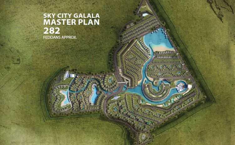 Sky City El Galala Design