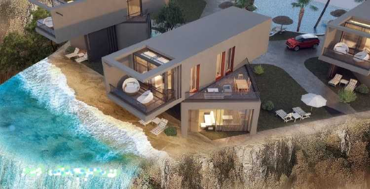 Stand-alone Villa on the sea in Sky City