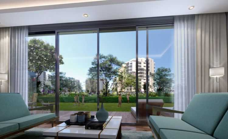 Apartments View in Zed Towers Sheikh Zayed