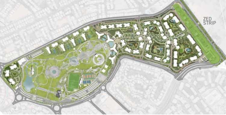 Zed Sheikh Zayed Compound Plan