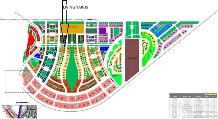 خريطة ذا لوفت بلازا العاصمة الادارية