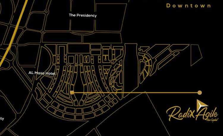 خريطة مول Radix Agile العاصمة الادارية