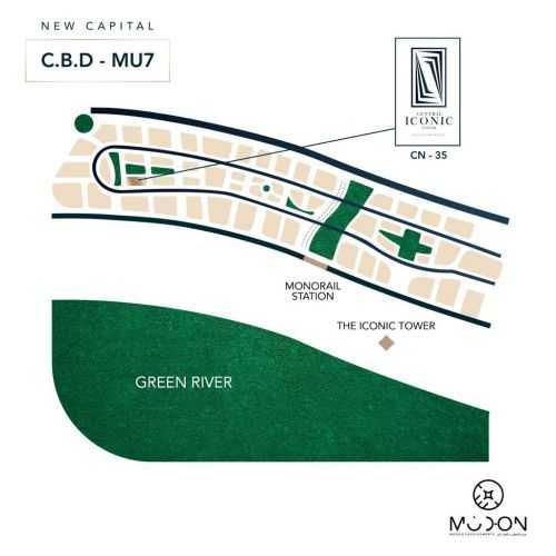 خريطة مول سنترال ايكونك تاور